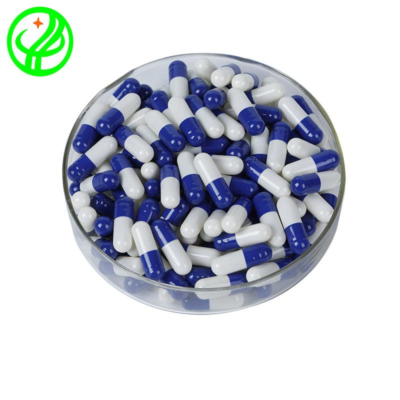 Blue white-HALAL Capsule