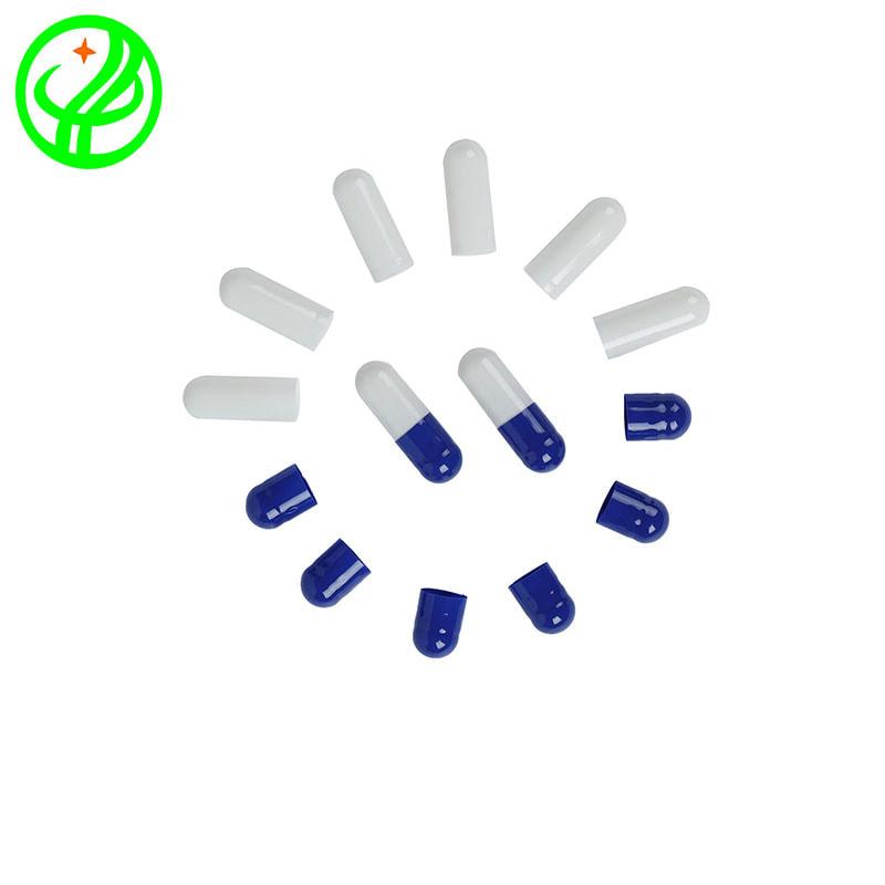 Blue white-Gelatin capsule