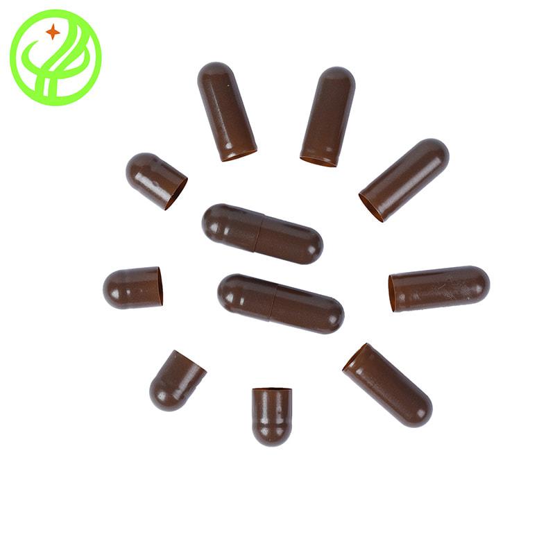 Brown-Gelatin capsule