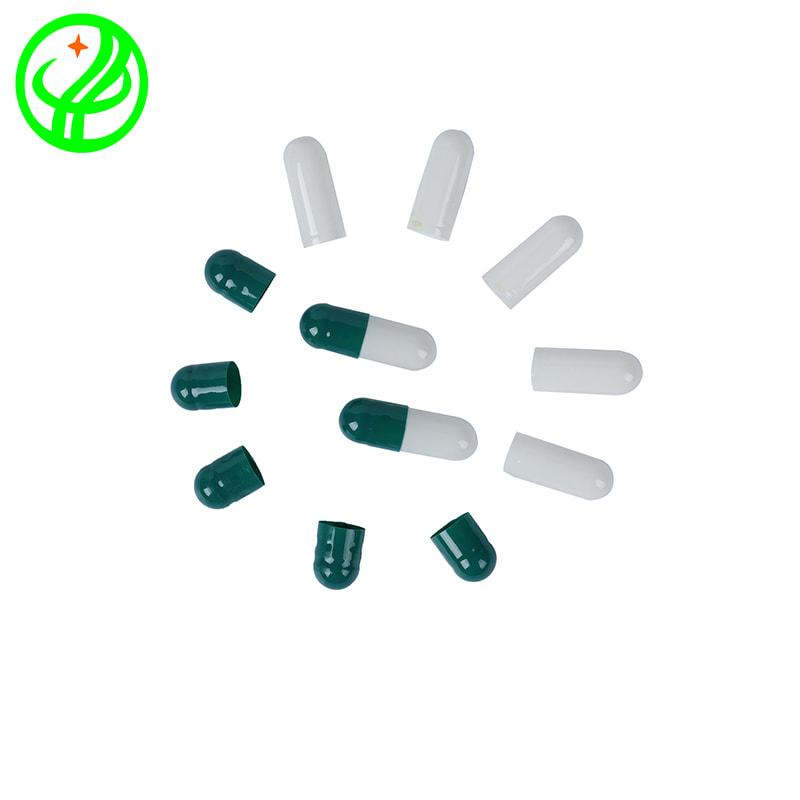 Green white -2-Gelatin capsule