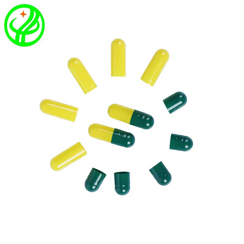 Green yellow-2-HALAL Capsule
