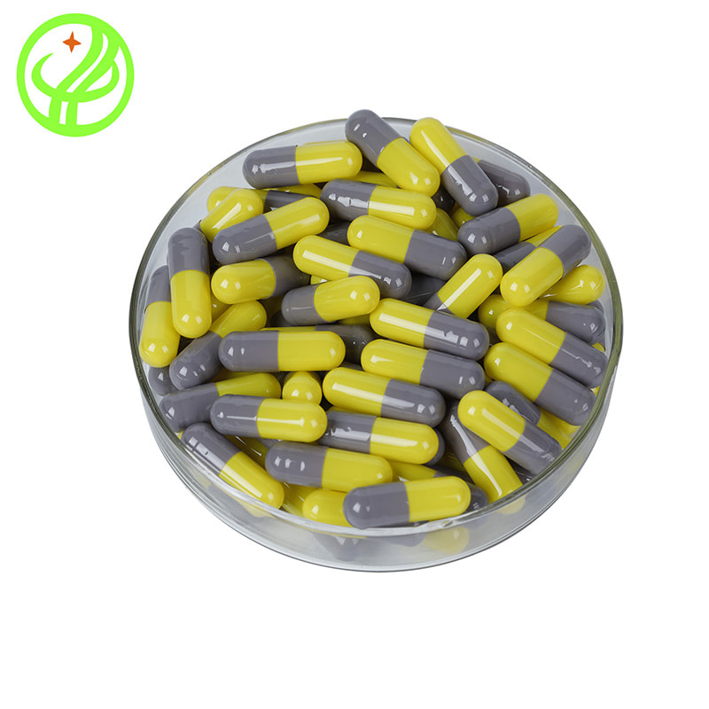 Grey Yellow-HALAL Capsule