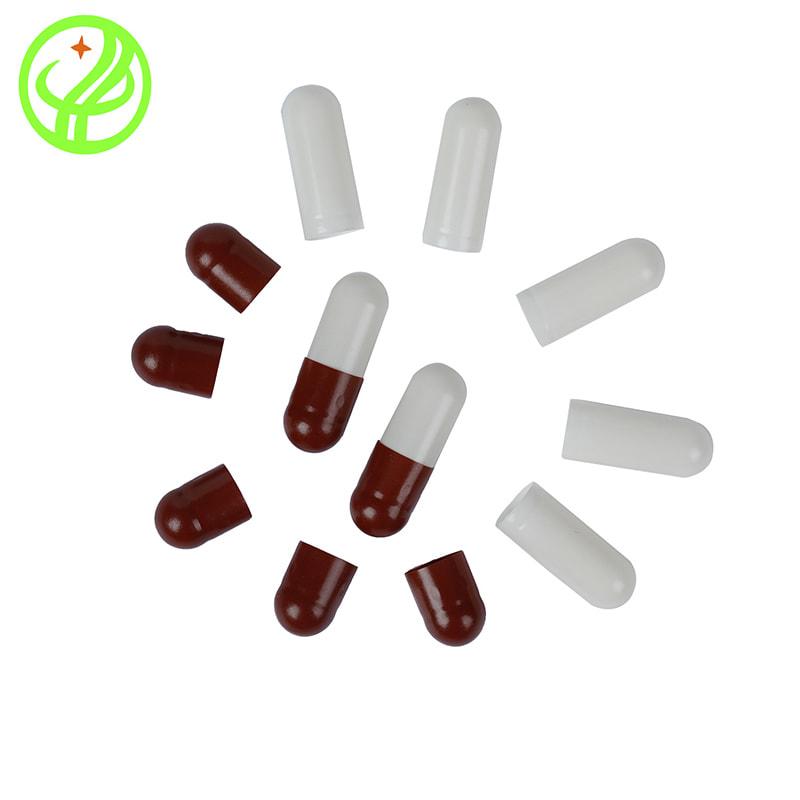 Marron White-Gelatin capsule