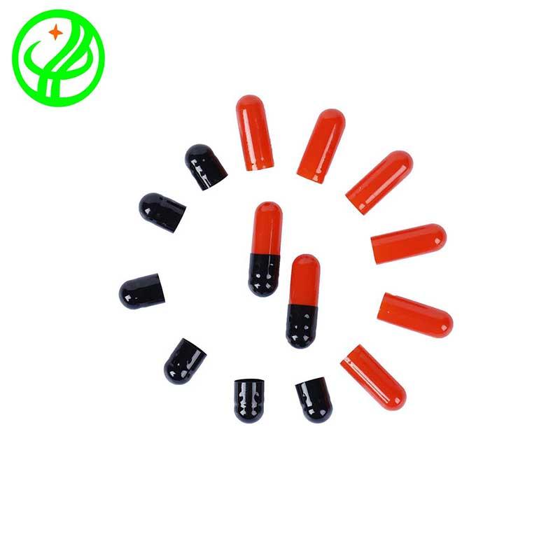Red black-2-Gelatin capsule