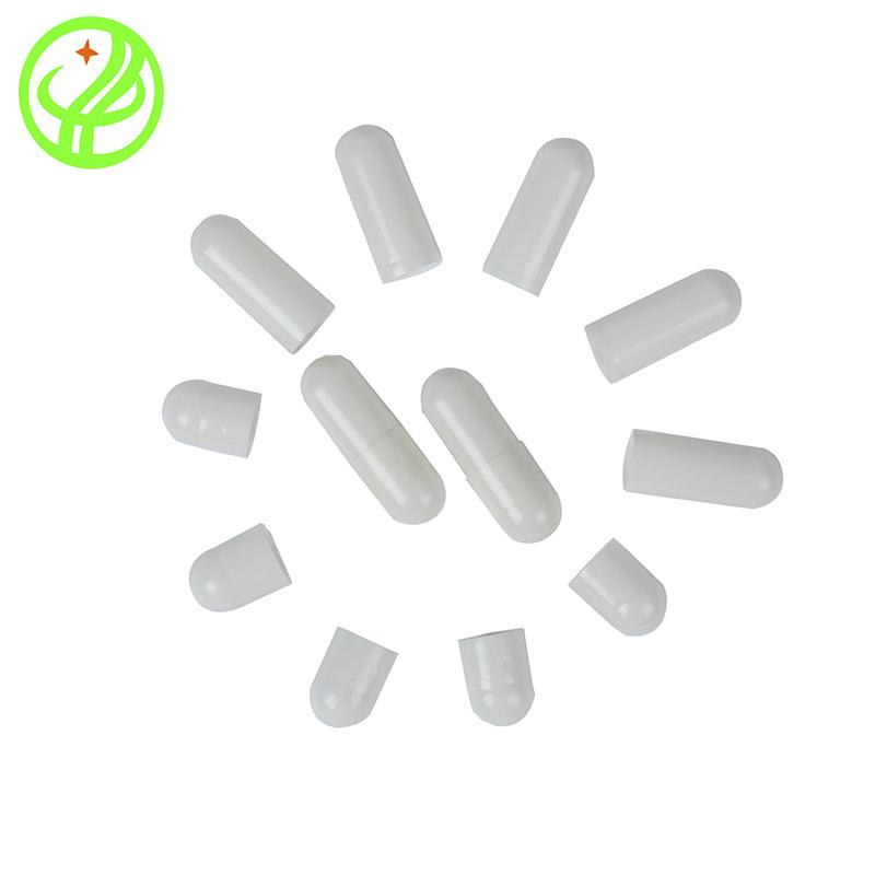 White-2-Gelatin capsule