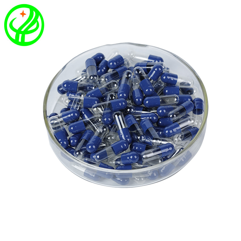 Blue transparent-HALAL Capsule