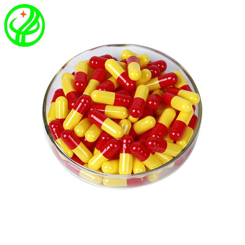 Red yellow-HALAL Capsule