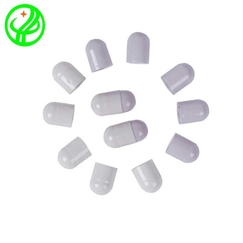 white pink-Gelatin capsule