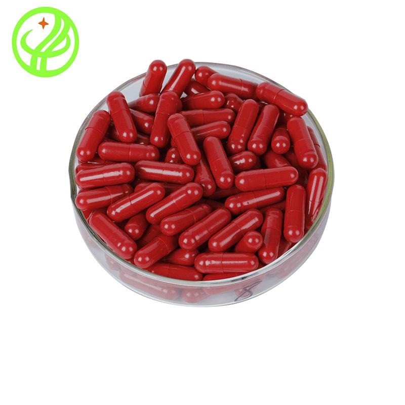 red-HPMC capsule